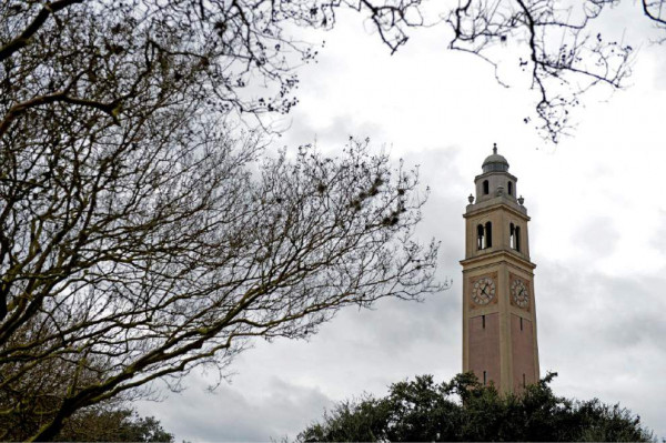LSU's Memorial Tower. the Campanile
