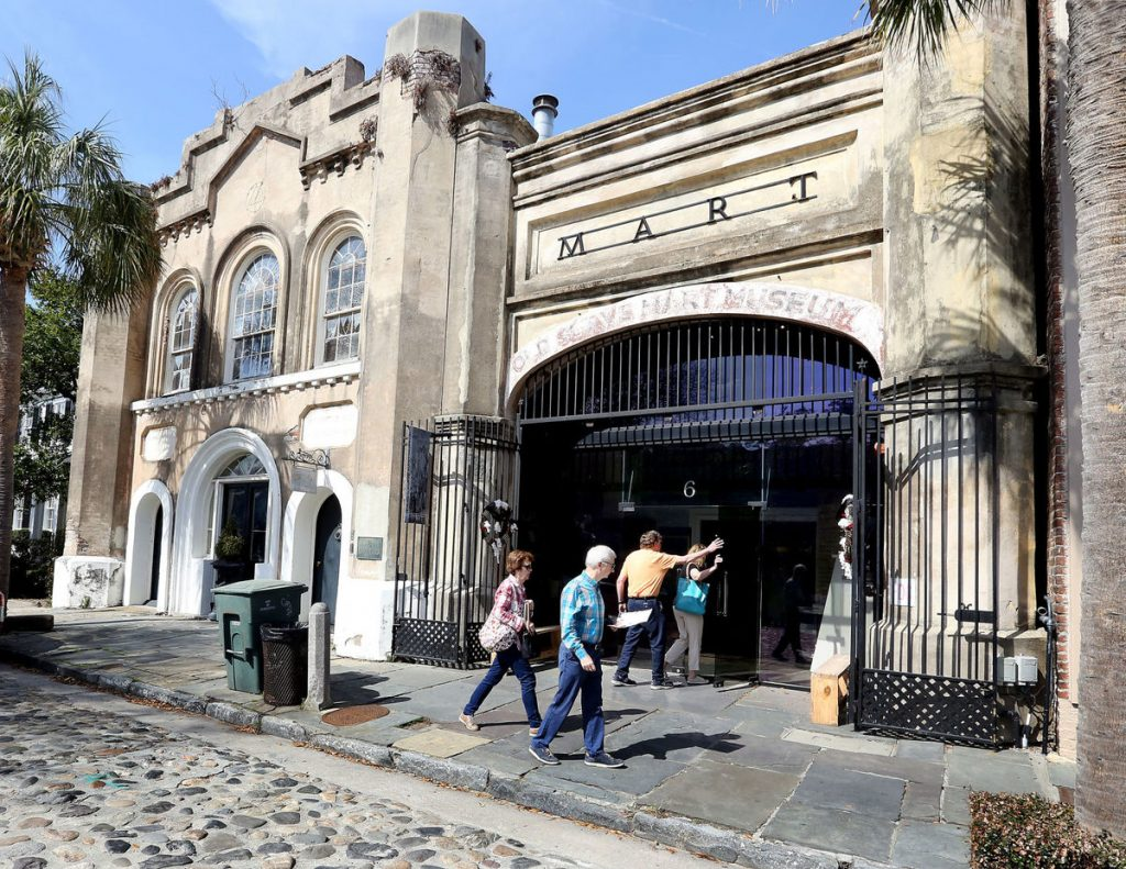 Old Slave Mart Gets New Life
