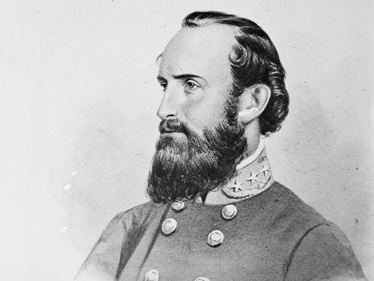 """Confederate general Thomas J. """"Stonewall"""" Jackson, provided by Library of Congress (Photo: Library of Congress/AP)"""