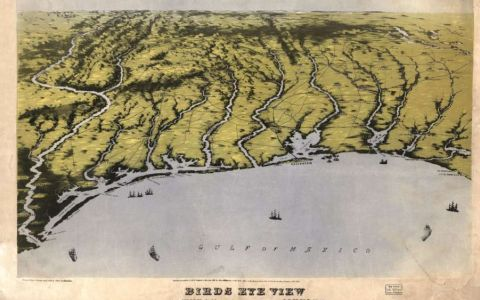 Civil War Maps Show Gulf in New Light