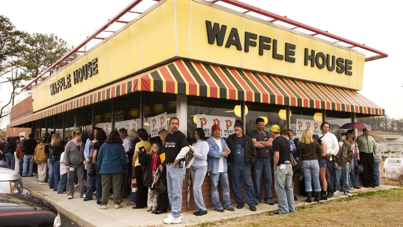 Guns, The South and Waffle House