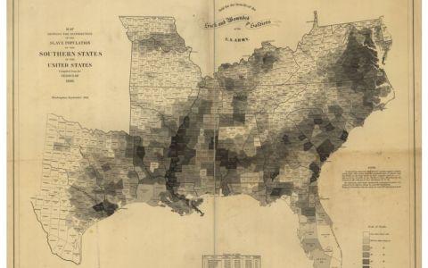 Maps Reveal Slavery's Spread