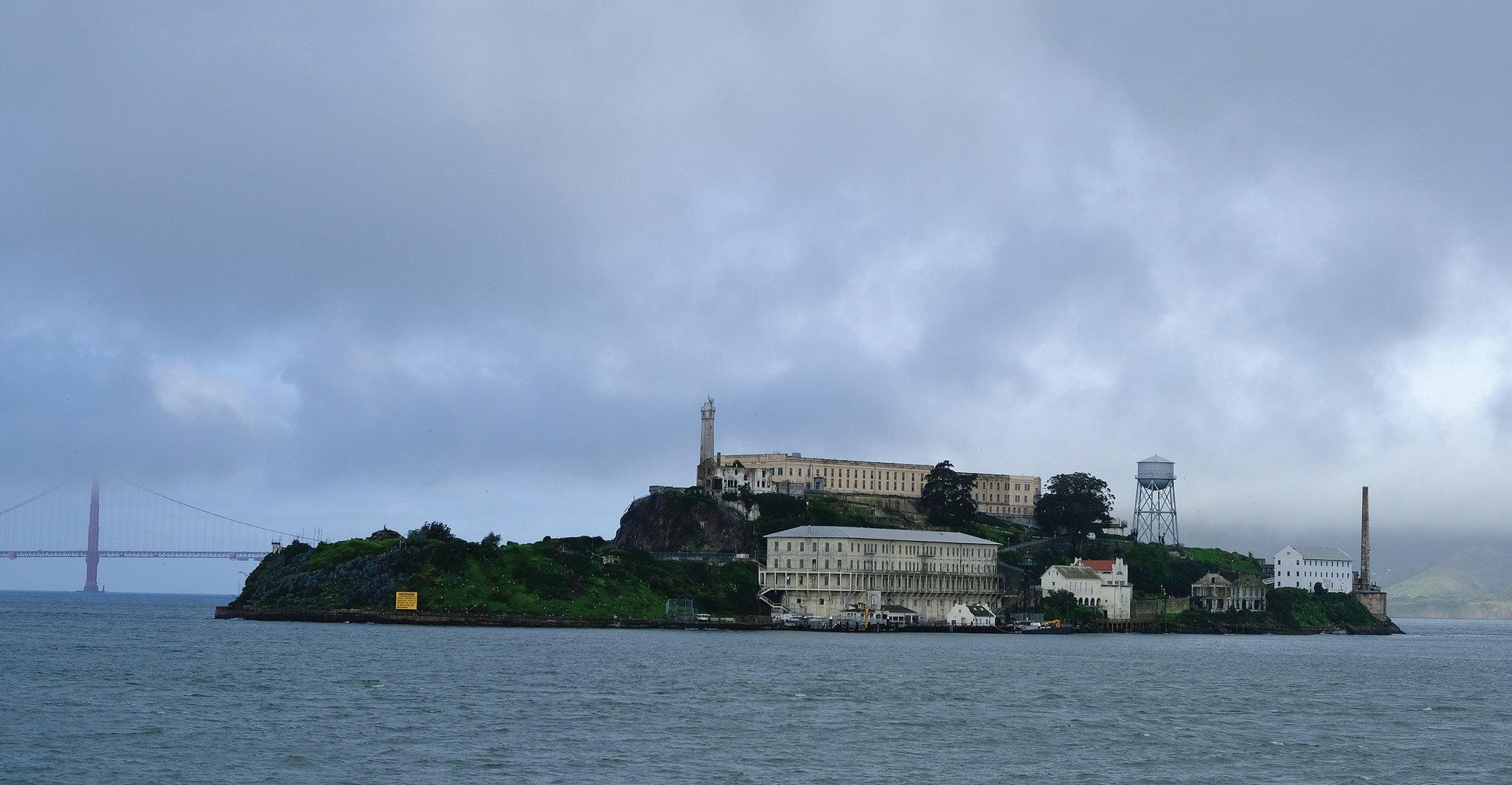 Alcatraz Built Over Civil War Site