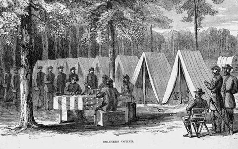 How Mail-In Voting Began on Civil War Battlefields