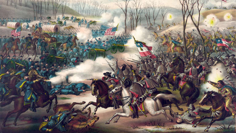 How The Civil War Divided Native American Nations
