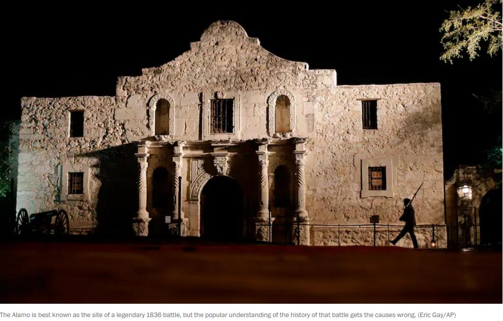 The Myth of The Alamo Gets History All Wrong