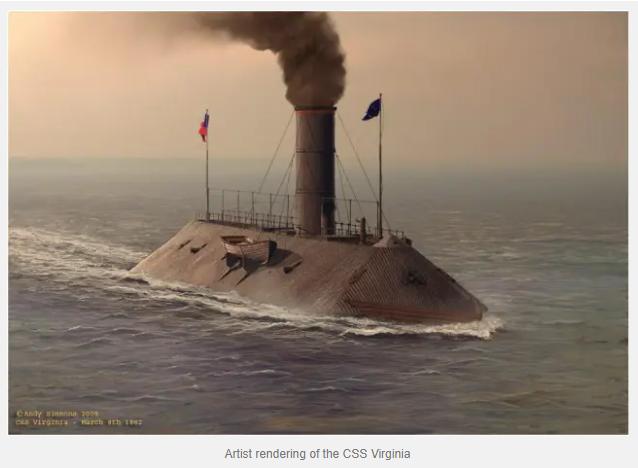 Under Fire: A Gunner on USS Congress in the Battle of Hampton Roads